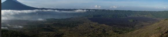 Vue depuis le Mont Batur