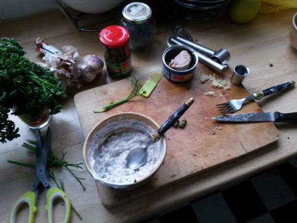 Sauce au thon