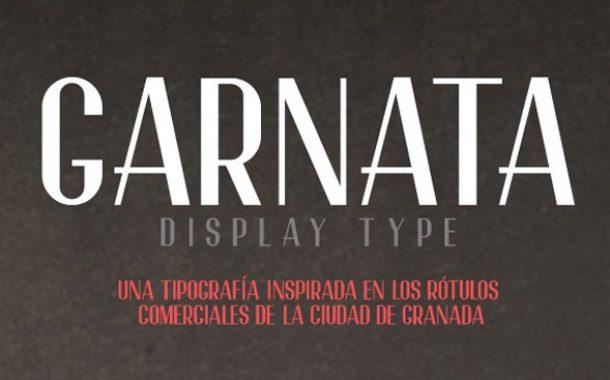4.free-font-garnata